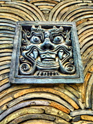 Monster Photo Prints - Seoul Mask Tile Print by Michael Garyet