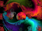 Abstract Digital Art - Seperation and individuation by Claude McCoy