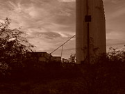 Old Mills Photos - Sepia Mill by Kat Loveland