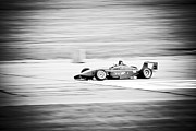 Indy Car Framed Prints - Sepia Racing Framed Print by Darcy Michaelchuk