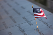 United States Of America - September 11 Memorial Flag II by Clarence Holmes