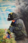 Firefighter Originals - September 11th by Joni McPherson