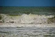 Beaches In Florida Prints - September Beach 2 Print by Susanne Van Hulst