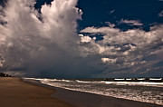 Beaches In Florida Prints - September Beach Print by Susanne Van Hulst