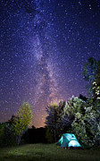 The Milky Way Photos - September night sky by Mircea Costina Photography