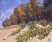 Sand Dunes Paintings - September Song by Michael Camp