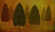 David Dehner Prints - September Trees  Print by David Dehner