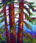 Fall Leaves Acrylic Prints - Sequoia Acrylic Print by Marion Rose
