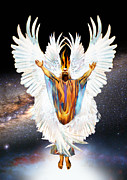 Seraph Prints - Seraph Cries Holy Print by Ron Cantrell