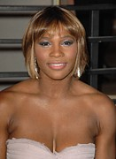 Serena Williams Framed Prints - Serena Williams At Arrivals For Vanity Framed Print by Everett