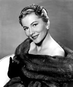 Fontaine Prints - Serenade, Joan Fontaine, 1956 Print by Everett