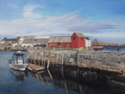 Barbara Barber - Serene afternoon on Cape...