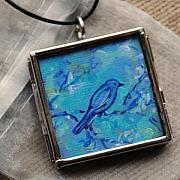 Acrylic Necklace Jewelry - Serene Early Morn by Dana Marie