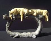 Candle Holder Ceramics - Serengeti Siesta by Susan Raybould