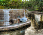 Canal Photo Originals - Serenity by Arnie Goldstein
