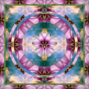 Sacred Geometry Photos - Serenity by Bell And Todd