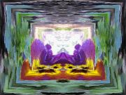 Gateway Digital Art - Serenity Gateway by Tim Allen