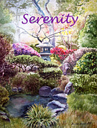 Serenity Print by Irina Sztukowski