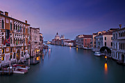 Twilight Photos - Serenity on the Grand Canal by Renee Doyle