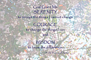 Serenity Prayer Framed Prints - Serenity Prayer Framed Print by Edward Congdon