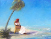 Key West Paintings - Serenity by Sarah Barnaby
