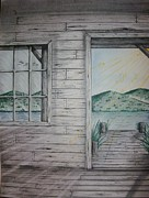 Cabin Window Originals - Serenity by Troy Cleveland II