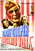 Films By Howard Hawks Posters - Sergeant York, From Left Joan Leslie Poster by Everett