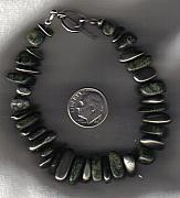 Fetishes Jewelry - Serpentine and Ironstone bracelet by White Buffalo