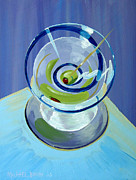 Wayne Thiebaud Framed Prints - Serpentini Framed Print by Michael Baum