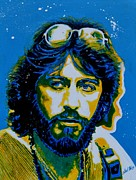 Neon Effects Painting Originals - Serpico - Al Pacino by Shirl Theis