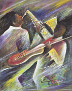 Jamaican Music Paintings - Session by Ikahl Beckford