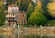 Y120817 Prints - Sesto Mansion Print by Fabio Montalto