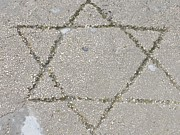 Star Of David Photos - Set In Stone by Heidi Horowitz