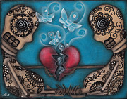 Heart Art - Set them Free by  Abril Andrade Griffith