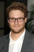 Premiere Framed Prints - Seth Rogen At Arrivals For Funny People Framed Print by Everett