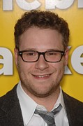 Seth Prints - Seth Rogen At Arrivals For Paul Print by Everett