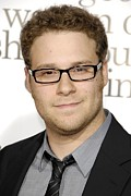 Premiere Metal Prints - Seth Rogen At Arrivals For Premiere Of Metal Print by Everett