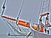 Sail Fish Prints - Setting Sail Print by Barry R Jones Jr