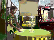 The Perfect Picture Inc Mixed Media - Setting The Table by Charles Shoup