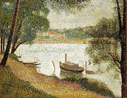 Jatte Photo Prints - Seurat: Gray Weather Print by Granger