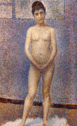 Seurat: Model, C1887 Print by Granger