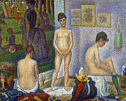 Nude Photos - SEURAT: MODELS, c1866 by Granger