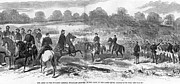 Army Of The Potomac Framed Prints - Seven Days Battles, 1862 Framed Print by Granger
