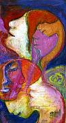 Symbolic Originals - Seven Faces by Claudia Fuenzalida Johns