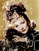 1940 Movies Metal Prints - Seven Sinners, Marlene Dietrich, 1940 Metal Print by Everett