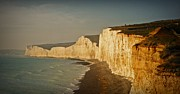 Chalk Cliffs Art - Seven Sisters 2 by Sharon Lisa Clarke