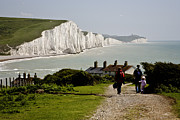 Chalk Cliffs Art - Seven Sisters by Heiko Koehrer-Wagner