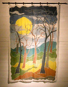 Environment Tapestries - Textiles - Seven Trees by Rollin Kocsis