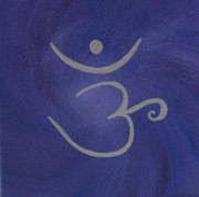 Chakra Paintings - Seventh Chakra by Gina Hampton