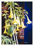 Trumpets Paintings - Seventh Heaven by Mike Hill